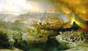 Jerusalem Burning in 70 AD