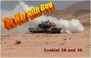 war with gog