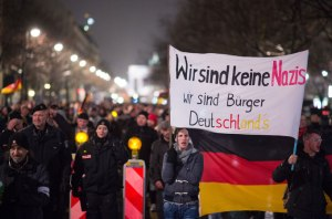 anti-islamic germany march