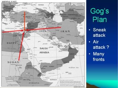 Gog's plan
