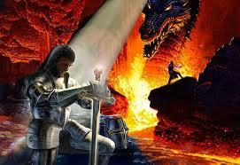 Satan warring against saints
