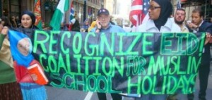 Demanding Muslim School Holidays