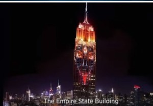 Cali on Empire State Building