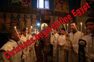 Christians Leave Egypt