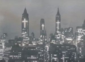 New York buildings in 1950s