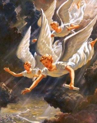 3 angels of woe