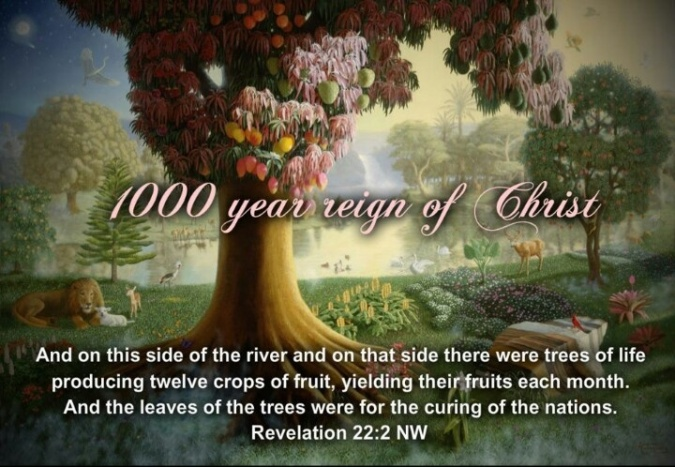 1000 year reign of Christ