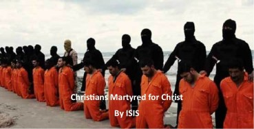 christian martyred
