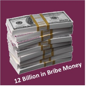 bribe money