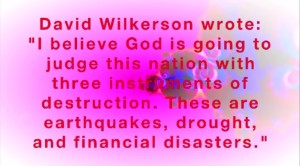 dave wilkerson judgments on America