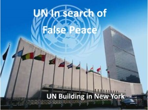 UN false peace