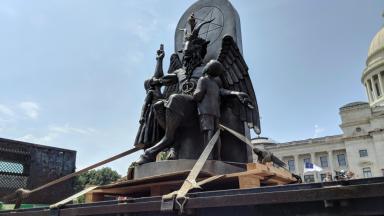 Satan Statue