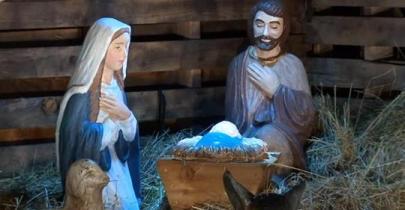 nativity scene from Washington City