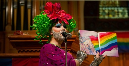 drag queen teaches in church