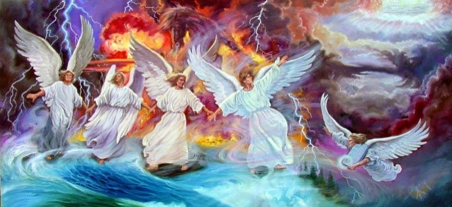 4 angels of revelation7-6
