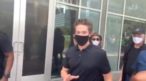 joel osteen marches with antifa and black lives matter