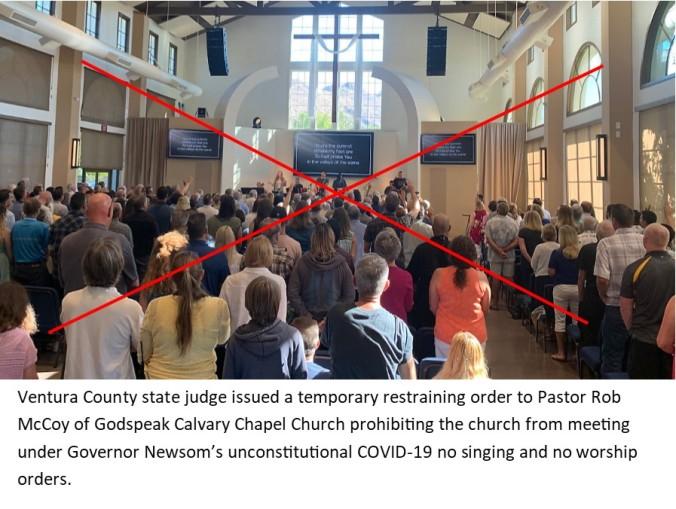 Covid19 church closing