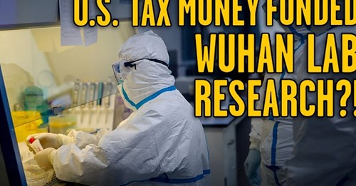 US money funds Wuhan lab
