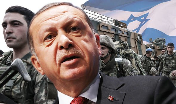 Erdogan calls for army to attack Israel on all sides