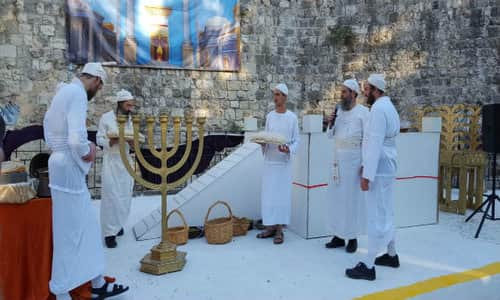 priests trained for templeoffering