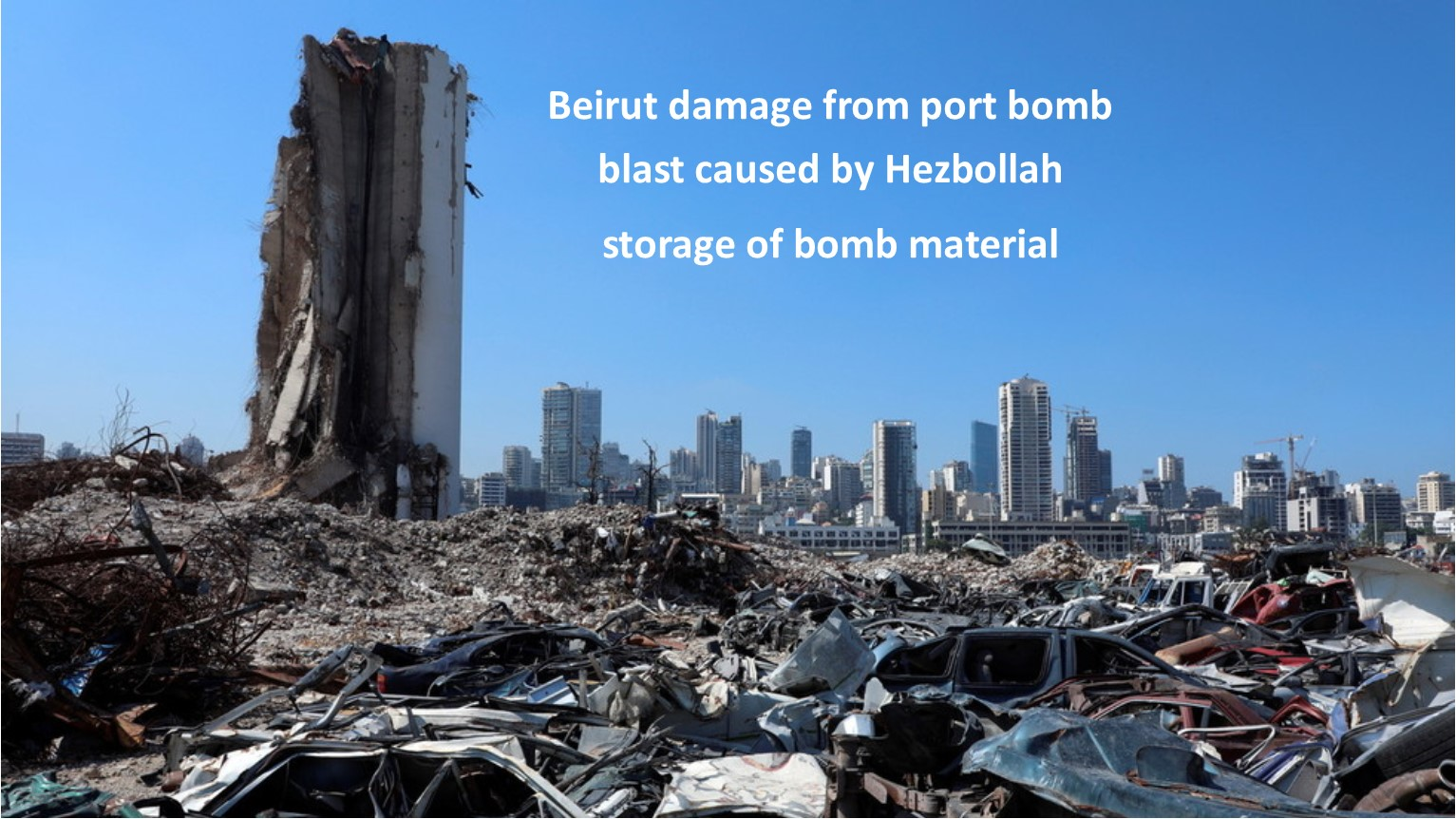 Beirut explosion leading to its failure