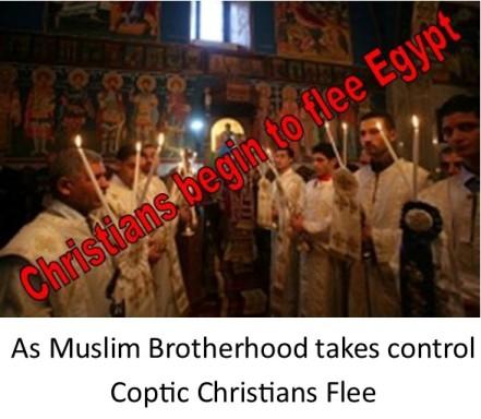 Coptic Christians Flee